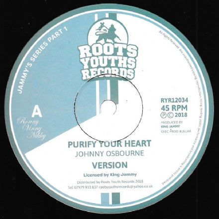 Johnny Osbourne - Purify Your Heart / version / Lacksley Castell - Princess Lady (Roots Youths) 12""